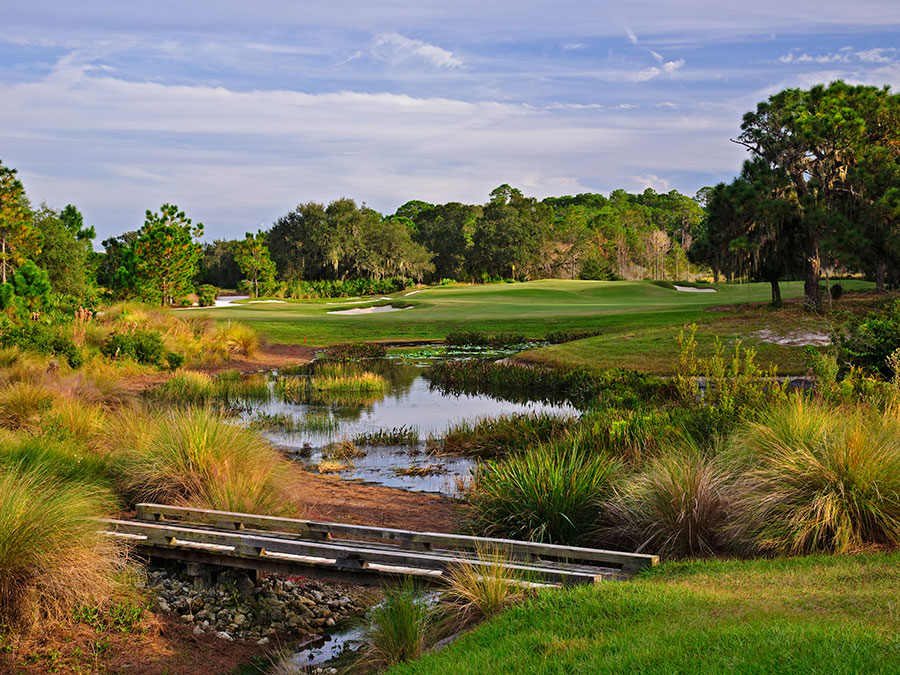 The Bears Den Club luxury golf homes Reunion Resort Orlando