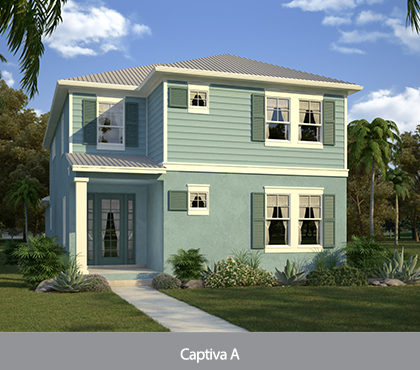 Captiva model at Patriots Landing