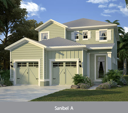 Sanibel model at Patriots Landing