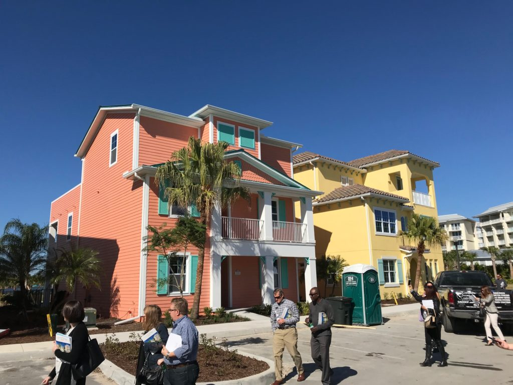 The cottages at Margaritaville Resort Orlando