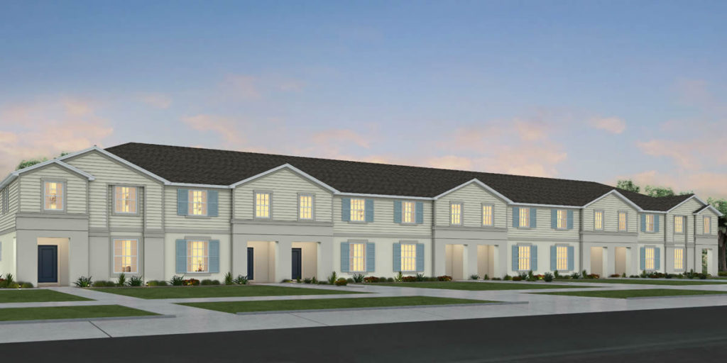 New townhomes at Windsor Island Resort