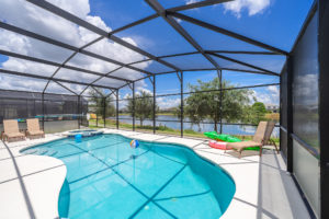 Waterfront vacation home for sale Disney private pool