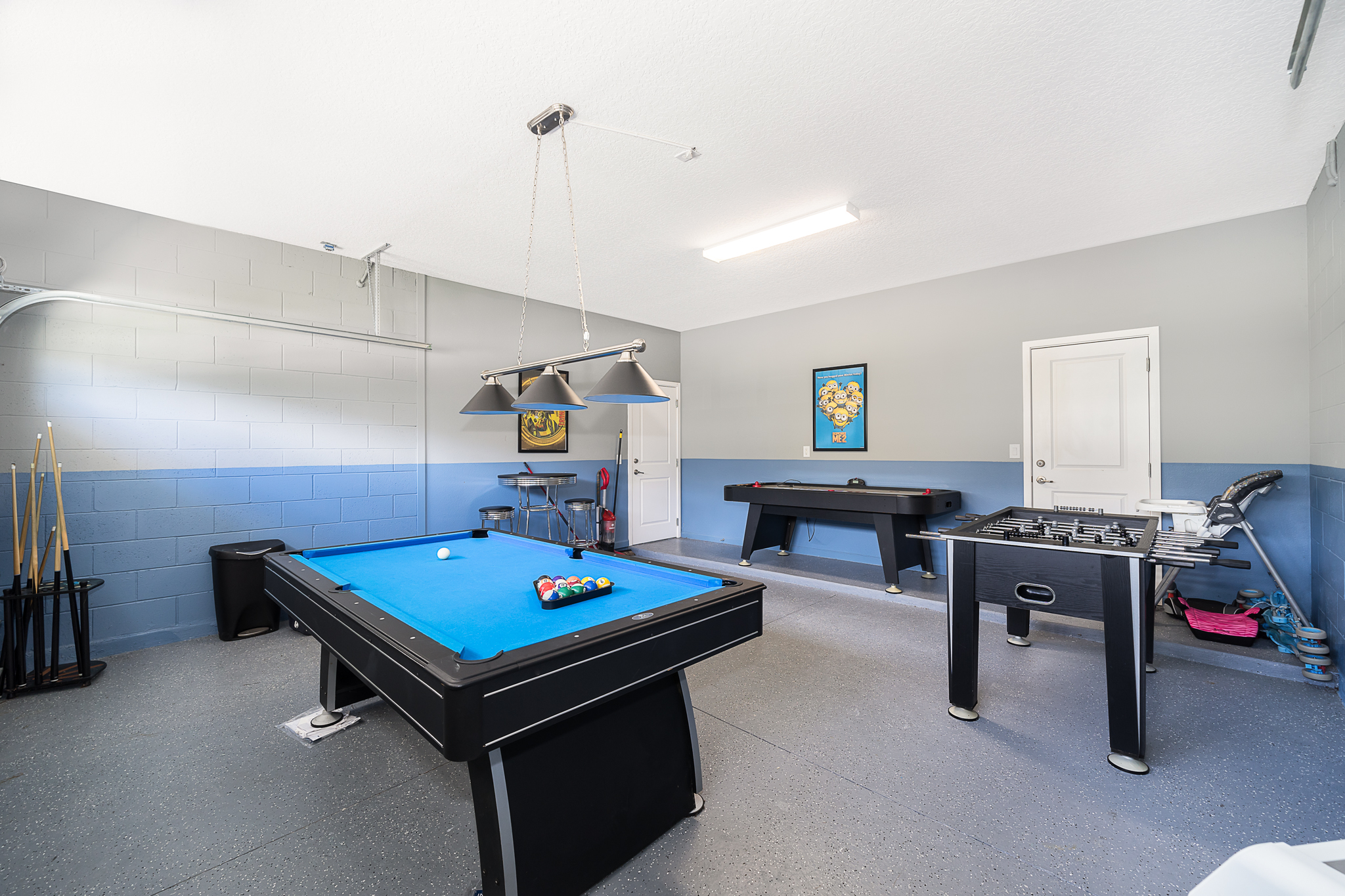 Waterfront vacation home for sale Disney private games room